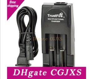100% Original trustfire TR001 carregador duplo carregador de bateria multifuncional duplo para 18650 18500 17670 16340 14500 10440 16430 Baterias