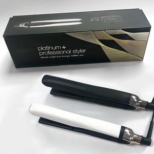 9HD Platinum + плюс профессиональный выпрямитель для волос плоский железо для волос с EU / UK / AU / US PLUSH