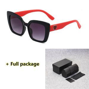 1123 Любовь Cолнцезащитные очки UV400 лето Марка очки очки УФ-защита очки 5 цветов, включая оригинальную коробку