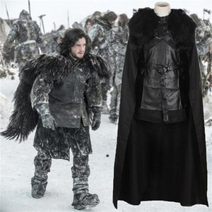 Song of Ice And Fire Homme Cosplay Mens Halloween Designer Theme Costume Seven Pieces Fashion Style