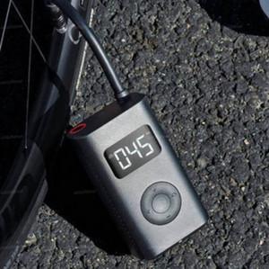 Hızlı Gemi Xiaomi Youpin Elektrikli Şişirme Pompası Taşınabilir Akıllı Dijital Lastik Basıncı Tespit İçin Bisiklet Motosiklet Otomobil Futbol