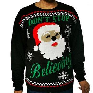 Abbigliamento Ugly Sweater Natale inverno degli uomini dal O collo Colorful Designer maglione causale Maschile Pullover
