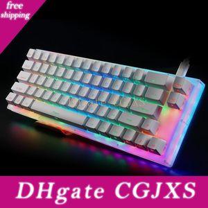 Womier 66 Anahtar Custom Mekanik Klavye Seti% 65 66 Pcb Vaka Nasıl Değiştirilebilir Anahtarı Destek Aydınlatma Etkileri ile RGB Anahtarı Led T200524