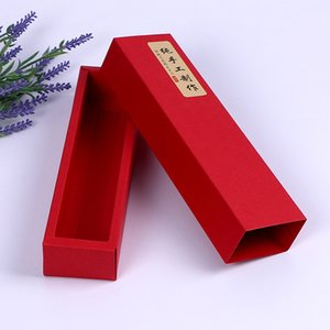 300 х Pure Red Moon картонного 50G торт Коробка Ящик Стиль Шоколад Нуга Упаковщики Оптовых