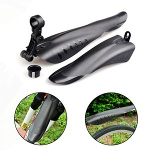 2Pcs Bicycle Mudguard MTB Bike Fender Mud Guards Wings For Cycling Front Rear Fenders Easy To Assemble Lightest Bike Accessory