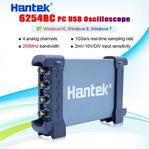 Hantek 6254BC Digital Oscilloscope 250MHz 4 CH 1GSa s waveform record PC USB connect with replay function