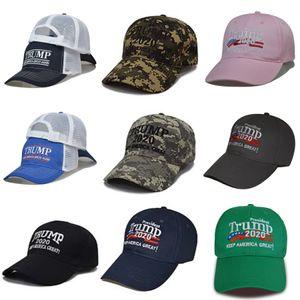 Yeni Donald Biden Hat 2020 Toptan Keep Amerika Büyük Kamuflaj Maga Şapka Ucuz Ayarlanabilir Beyzbol Trump Cap # 386 # 199