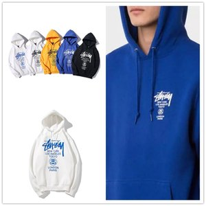 Stussy men's and women's hoodies hot fashion gilded luxury Hoodie stussy classic fashion Pullover high comfort Hoodie printed sweater