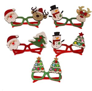 Cartoon old man Christmas glasses Christmas decorations children holiday party creative gifts GD679