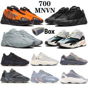 700 V2 Utility Nero Kanye West Uomo Donna Scarpe da corsa Geode Statico Malva OG Runner Wave Solido Grigio Inerzia Vanta Sport Sneakers 36-46