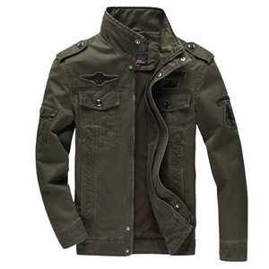 Men's casual jacket 2020 new special forces uniform large size flight suit outdoor sports multi-pocket tooling jacket