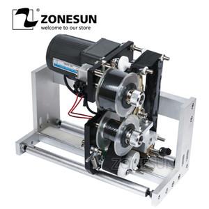 ZONESUN LT-50 Этикетировочная машина Полуавтоматическая Срок действия ленты Coding Принтер этикеток Hot Stamp Лента Coding машина для печати