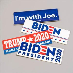 2020 Stati Uniti elezione presidenziale Biden Adesivi Adesivi circostanti promozionale Poster 10pcs / Set Biden autoadesivi T3I5984