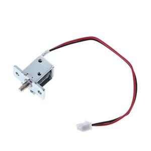 DC 12V 0.5A Mini électrique magnétique Cabinet Bolt Push-Pull Serrure de presse Solenoid l29k de contrôle d'accès