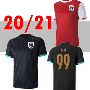 2020 2021 Austria soccer jersey 20 21 Alaba Arnautovic Sabitzer Grillitsch camisetas national team away black football shirts