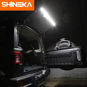 SHINEKA для Jeep Wrangler TJ JK JL 1997-2018 Tailgate свет Магистральные свет заднего хвоста Лампы светодиодные лампы для Jeep Wrangler TJ JK JL