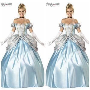 9fxoj Service Sisi Service Schnee Cinderella Halloween Princess Court Kleidung Prinzessin Kostüm Cosplay
