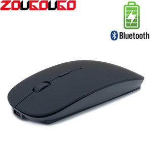 Bluetooth Silent Wireless Mouse Rechargeable Built -In Battery 2 .4ghz Usb Computer Mause For Pc Laptop T191211