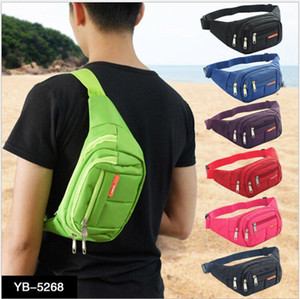 Purse Bag Waist Mens Womens New Hip Pack Fanny Pouch Belt Travel Sport Bum Nylon Bag Waist Fkxhl