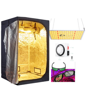 110W Full Spectrum LED Grow Light + 24''x24''x56 '' Tente + minuterie Cultiver interrupteur + Growroom Lunettes complet hydroponique Systemes