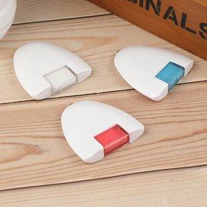 1pcs Rouge Blanc Bleu Outils de bricolage coudre Triangular Chalk Roue Tailor Vêtements coudre Chalk Marqueurs Accessoires
