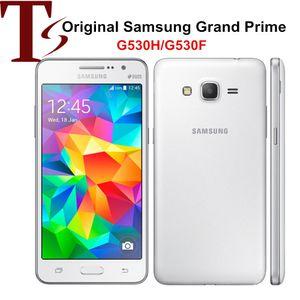 """Original Samsung Galaxy Grande Prime G530H G530F Desbloqueado Cell Phone Quad Core Dual / único Sim 5.0 """"telefone Inch 3G Recuperado"""