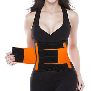 Waist Trimmer cintura regolabile Wrap sudore allenamento vita in neoprene supporto della vita allenatore Torna Belt Support