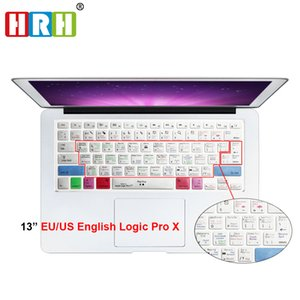"""Shortcuts Logic Pro X Keyboard Cover Shortcut Printed Cover for MacBook Air Pro Retina 13"""" 15"""" 17"""" for iMac Wireless"""