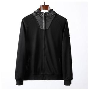 Topstoney Homens e Hoodie 2020 Primavera Outono nova Europeia zipper camisola retro rua de alta qualidade solta par de jumper das mulheres