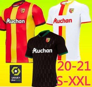 S-XXL 2021 RC عدسة بعيدا كرة القدم بالقميص Gradit فورتيس كاهوزاك بيريز 2020 2021 RC عدسة مايوه دي القدم Camisa دي futebol للرجال لكرة القدم قميص