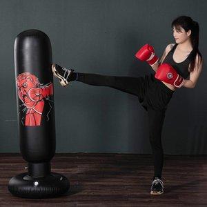 160cm de boxe sac de boxe gonflable libre-Stand Pression Tumbler formation Muay Thai Relief Bounce Back Sandbag
