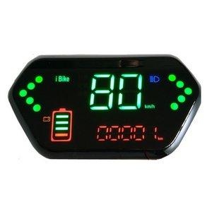 Display LCD 24VV36V48V60V72V84V96V para o scooter elétrico Peças de bicicleta Triciclo Scooter Scooter Velocímetro Bateria de Bateria / Nível Indicador