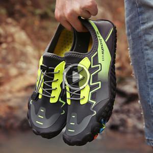 Sommer-Wasser-Schuhe Herren Zehensandale Upstream Aq Schuhe Wome Quick Dry Fluss Slippers Tauchen Schwimmen Socken Tenis Masculino Ausrüstung