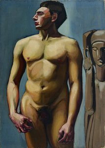 Tamara De Lempicka Male Home Decor Handpainted &HD Print Oil Painting On Canvas Wall Art Canvas Pictures A384