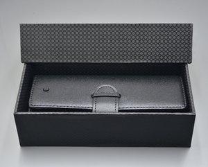 M Pen bolsa de couro saco preto para o presente de alta qualidade Pen Caso Set Acessórios caixa de caneta presente manual de 1 e 2 Estilo