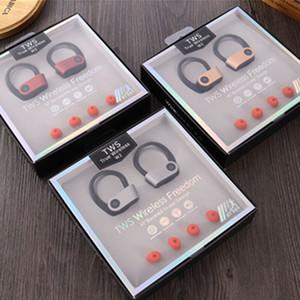 W2 TWS Crochet oreille sport écouteurs colorés sans fil Bluetooth Mini HIFI V5.0 intra-auriculaires sans fil Casques d'écoute Head Phones écouteurs Andorid
