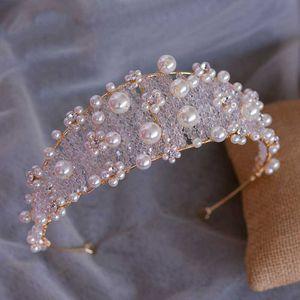 Bide Tiara Diadema Headband Crystal Wedding Hair Accessories Jewellery Couronne Korona Couronne De Mariage Jewelry