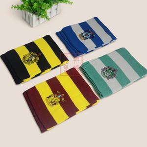 print badge Harry Potter cosplay costume écharpe Wrap 165cm * 17cm de 4 couleurs de l'école LJJK2478 cosplay