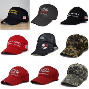 Señora Trump Trump202 sombrilla béisbol lavada de béisbol del sombrero de Sun de la sombrilla al aire libre de malla Cola de caballo sombrero # 273