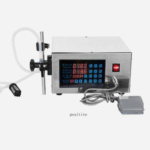 NUEVO TIPO AUTOMÁTICO CNC Máquina de llenado de líquido 220V 110 V Máquina de llenado de líquido de leche de soja Leche CNC Máquina de llenado de líquido eléctrico CNC