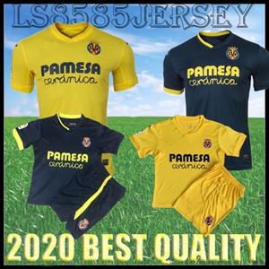Çocuk Kiti 20 21 Villaral Futbol Formaları 2020 2021 Home Paco Alcacer Bacca Fornals Anguissa Ekambi Iborra S.Cazorla Yetişkin Futbol Gömlek