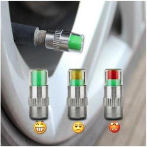 4шт 2 .0bar 30psi Автомобиль давления в шинах монитор шток клапан Крышки датчик Индикатор глаза оповещение Diagnostic Tools Kit