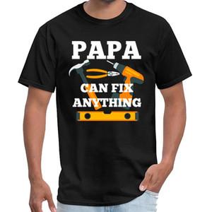 Impressão PAPA CAN mulheres corrigir alguma coisa equipe do selo camiseta ropa camisa hombre t slogan XXXL 4XL 5XL