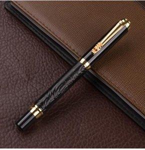 2019 Luxus-Geschenk-Feder-Satz-Qualitäts-Drache Roller Kugelschreiber mit Original Case Metall Kugelschreiber für Weihnachtsgeschenk