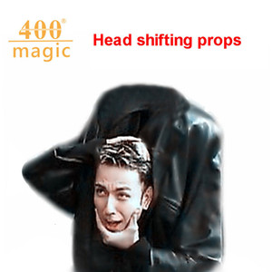 Head Shift Props Magic Accessories Iron Black Kids Special Belt Stage Performance Game Magic Trick Props Gift Halloween Props