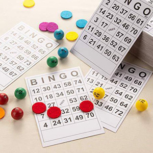 BINGO Cards 1 On Single 120 Sheets Disposable Cards 120 Cards Without Repeat
