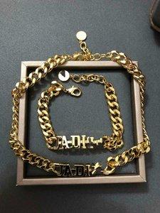 Explosion klassisches CD-Chain-Design Schmuck luxurydesigner Schmuck Frauen Design Halskette Armband
