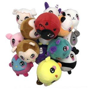 New Toy PU lento rebote bonito Plush Doll pitada brinquedo ventilação animais boneca mole zGlwM