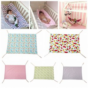 7styles Newborn Crib Infant Hammock Baby Hangmat printed Travel portable Baby Sleeping Bed Detachable Bassinet Crib Hammock 100*70CM F Bs69#