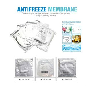 3pcs anticongelante Membranas Las membranas Antifeeze Cryo cojín de bolsa de 28 * 28 cm Anticongelante Membran para la terapia Cryo gratuito de envío Ptnu #